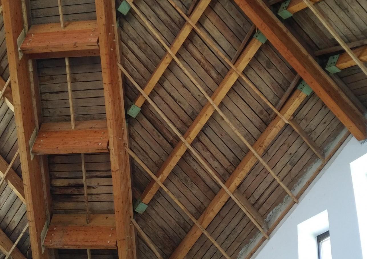 Šlaitinio stogo įrengimas 4
