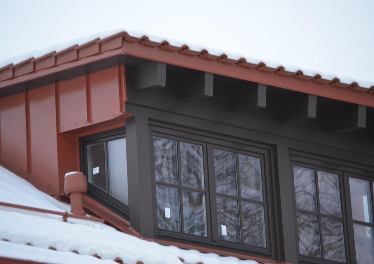 Šlaitinių stogų remontas 1
