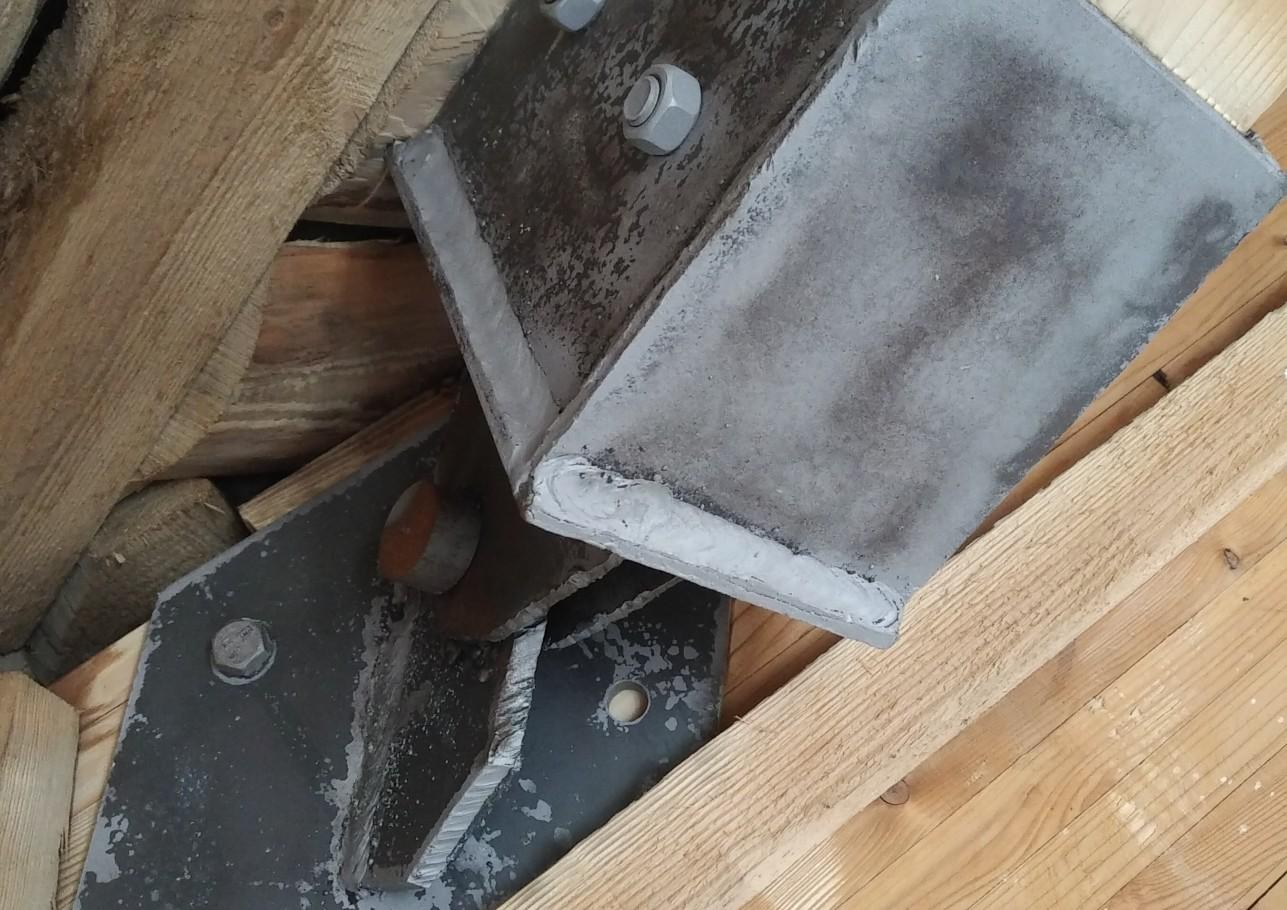 Šlaitinių stogų remontas 4