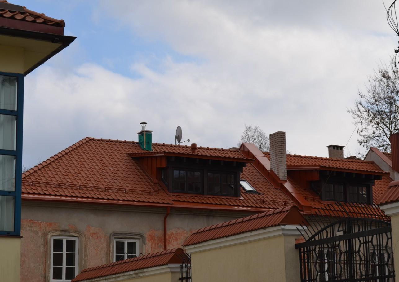 Šlaitinių stogų remontas