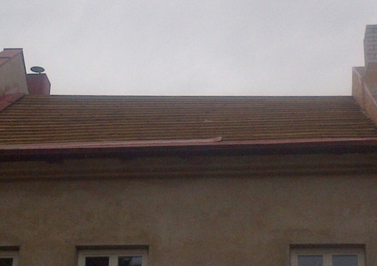 Šlaitinių stogų šiltinimas 2