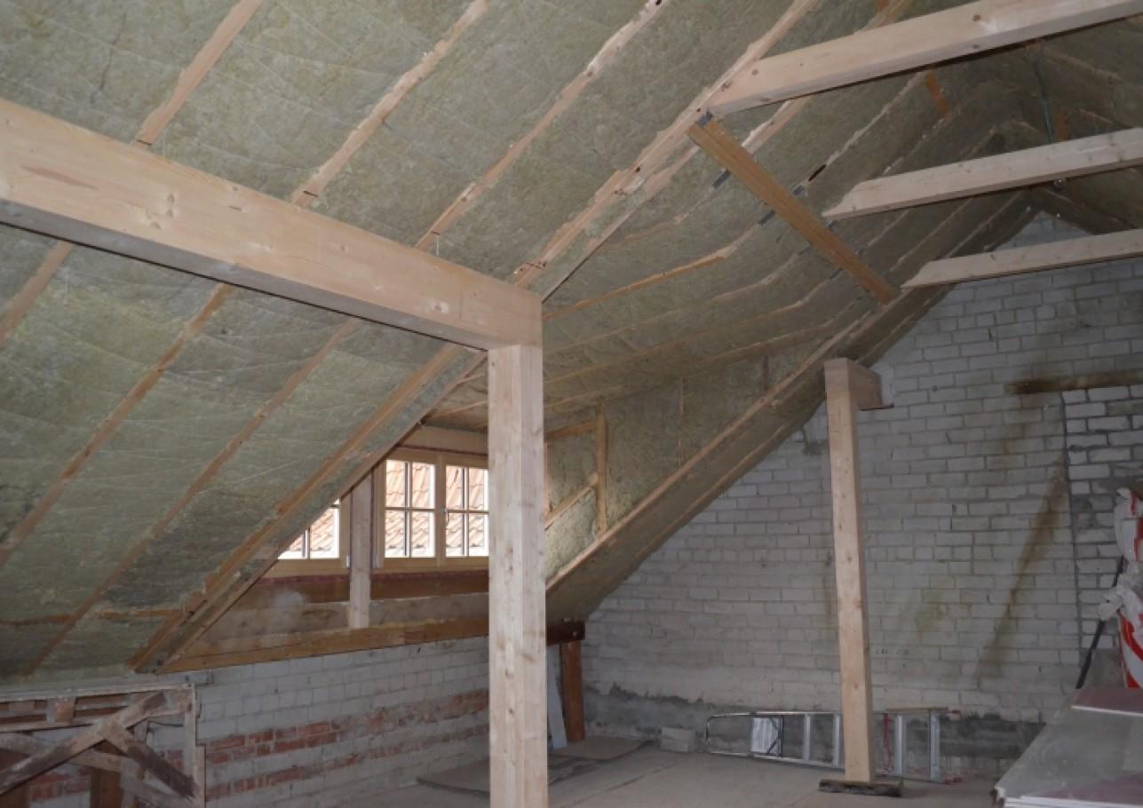 Šlaitinio stogo remontas
