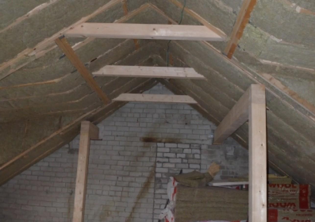 Šlaitinio stogo remontas 2