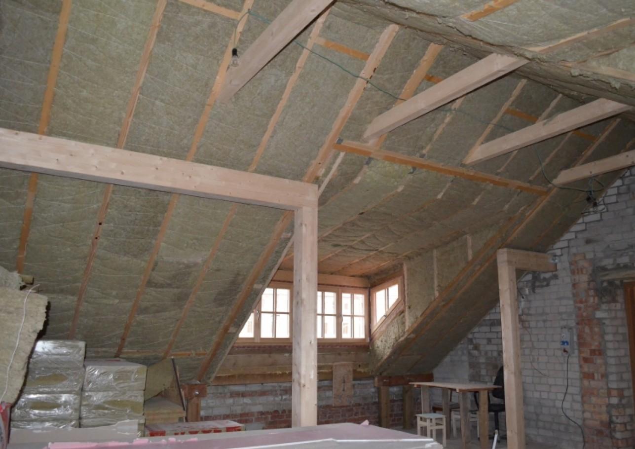 Šlaitinio stogo remontas 3