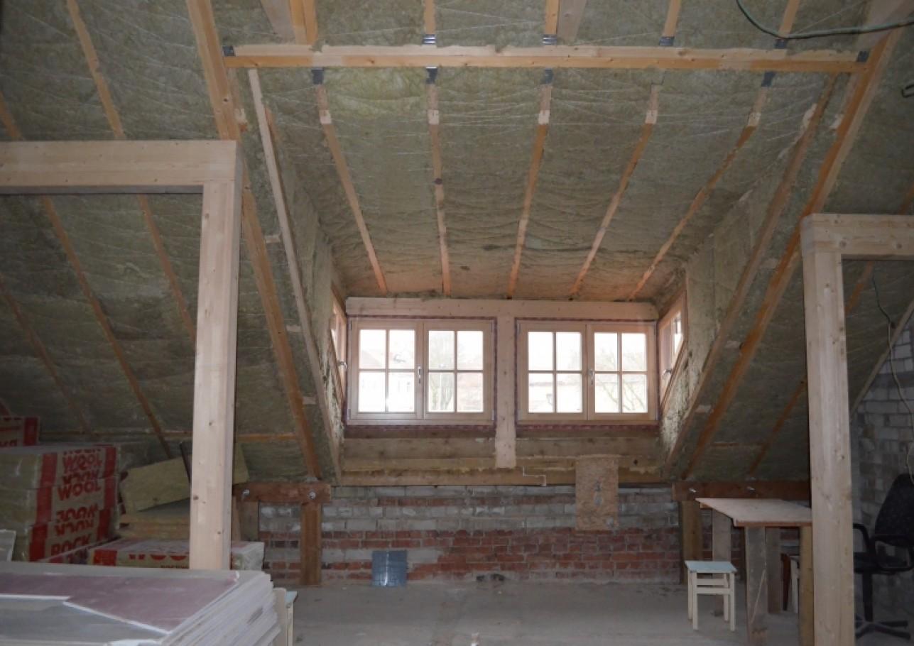 Šlaitinio stogo remontas 4